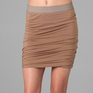 T Alexander wang ruched Jersey mini skirt NWT
